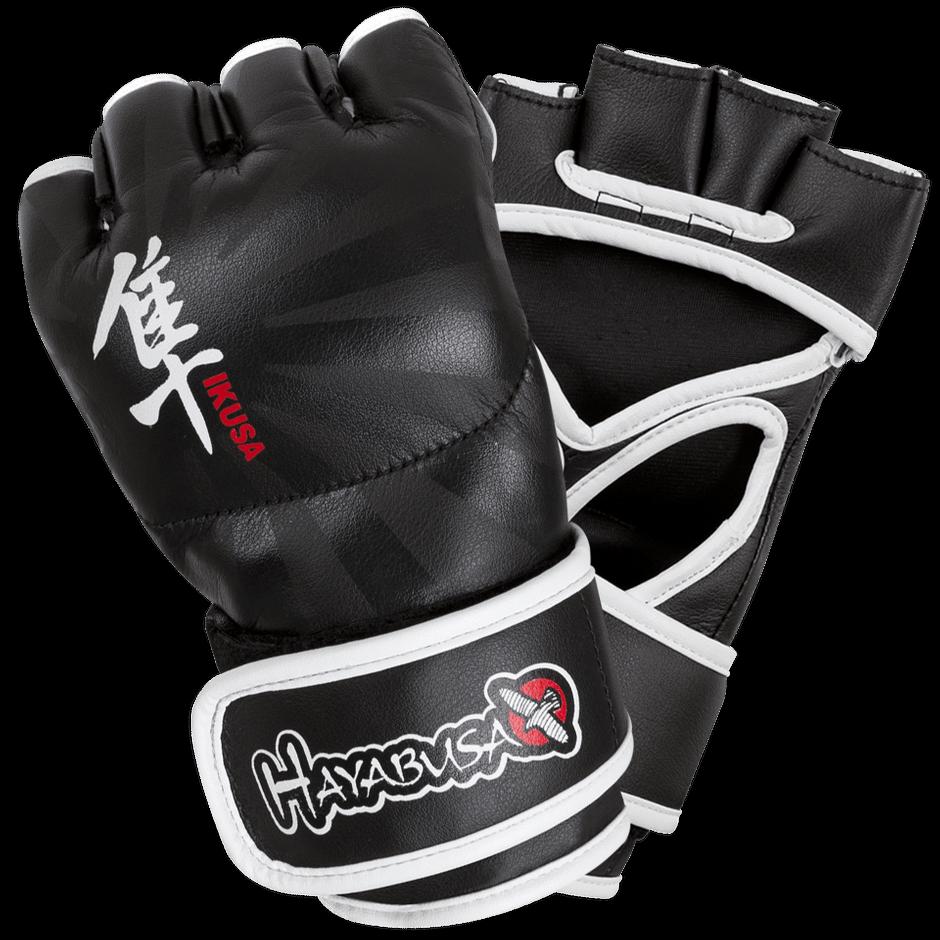 Hayabusa Ikusa 4oz MMA gloves- Black- Size Small