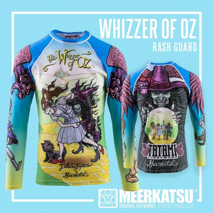 Tatami Meerkatsu Whizzer of Oz Rash Guard