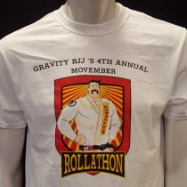 2015 Movember Rollathon T-Shirt