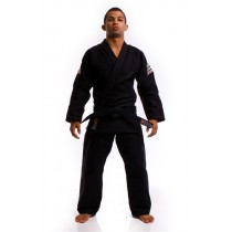 Atama Single Weave Black Jiu-Jitsu Gi