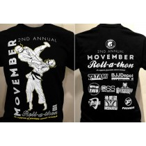 2013 Movember Rollathon T-Shirt