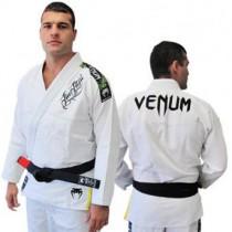 Venum BJJ Gi single weave Competitor- White (Ice)