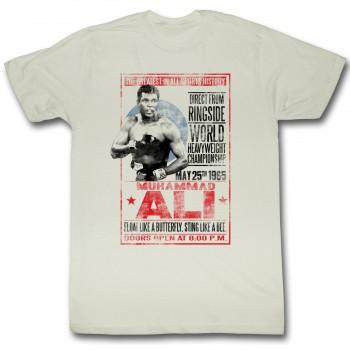 Muhammad Ali 1965 Poster T Shirt
