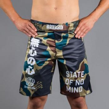 Scramble No Mind Camo Shorts