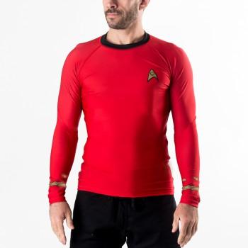 Star Trek Classic Uniform Rash Guard- Red
