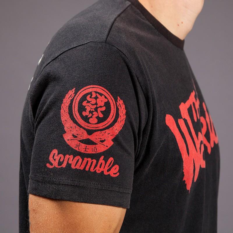 ec3b167f Scramble Saku x The Warriors T Shirt Free Shipping in Canada- BJJ Gear