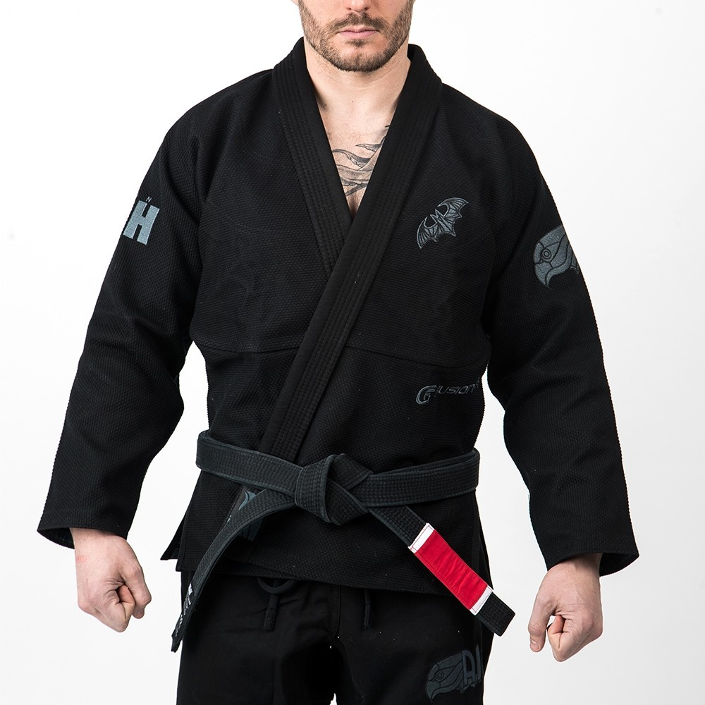 Fusion Fight Gear Batman Hush BJJ Gi - Black (issue #11)