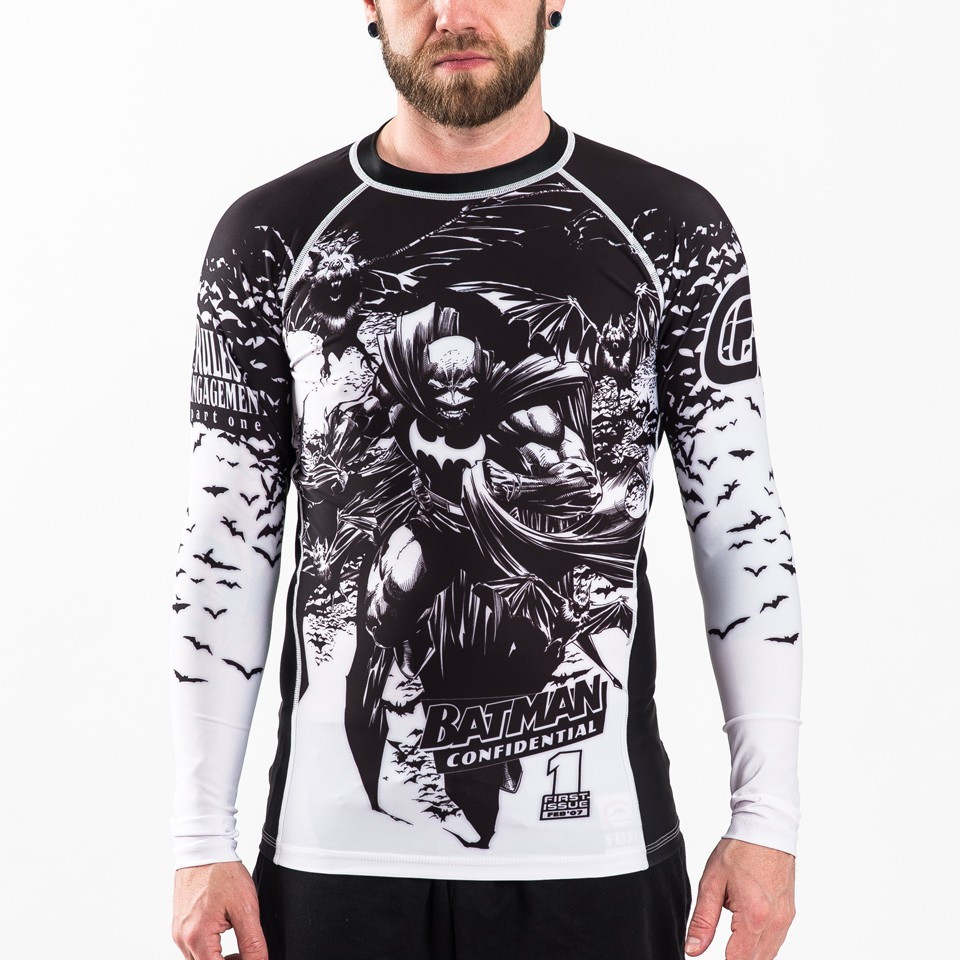 Batman Confidential Noir Rashguard