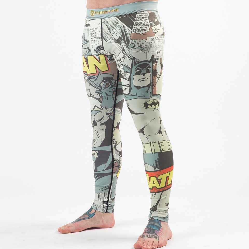 Batman Pop Art Spats