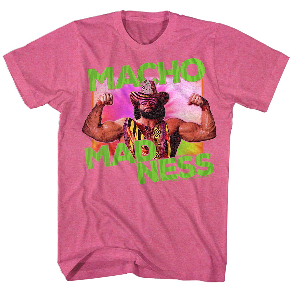 6842e3297822c Macho Madness T Shirt Pink- Free Shipping USA and Canada