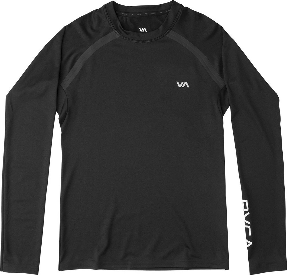RVCA Compression Top Long Sleeve- Black