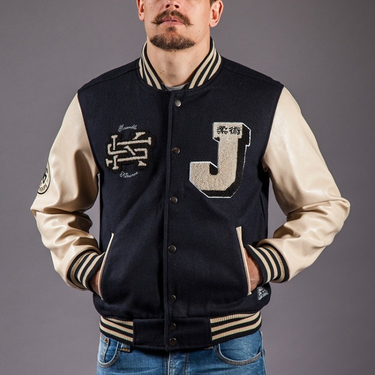 Scramble BJJ Letterman Jacket