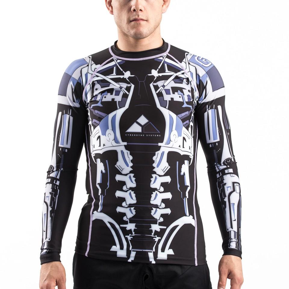 Terminator 2 Endoskeleton BJJ Rashguard