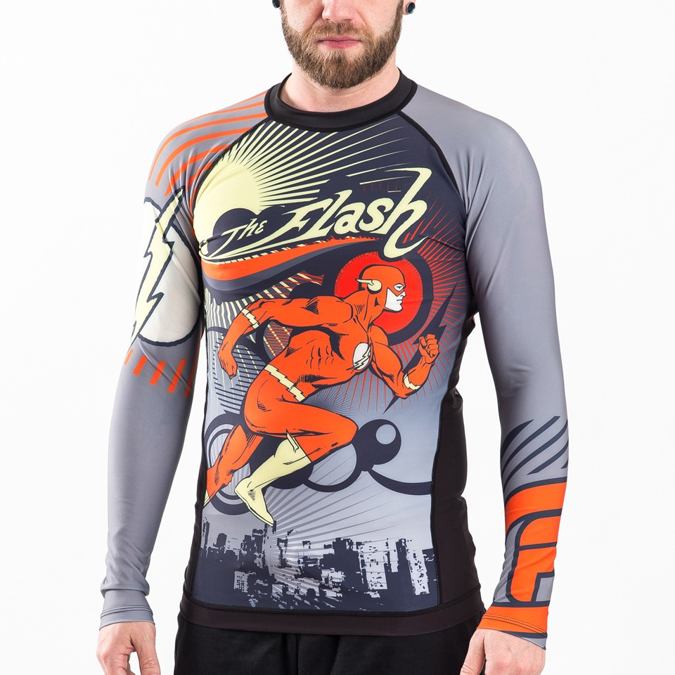 The Flash Running Man Rashguard