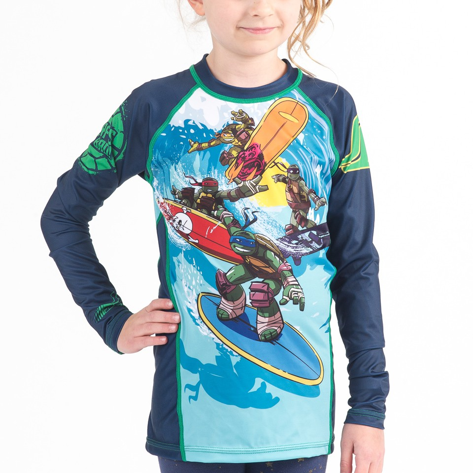 TMNT Sewer Surfin' Kids Rashguard - Long Sleeve