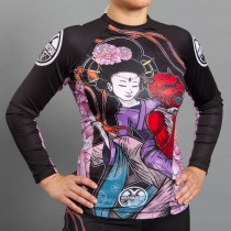 Meerkatsu Divine Bow & Arrow Rashguard – Ladies Cut