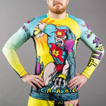 Gawakoto x Art Junkie - Grapple and Pound Rashguard