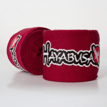 Hayabusa Perfect Stretch Handwraps- Burnt Crimson