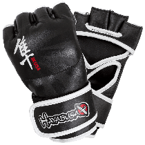 Hayabusa Ikusa 4oz MMA gloves- Black- Size Small