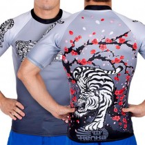 Kenka x Meerkatsu White Tiger Rashguard