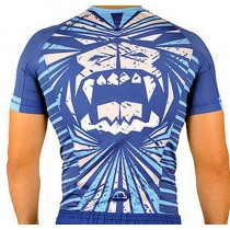 Manto The Beast Rashguard Blue