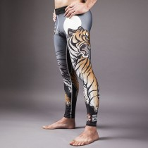 Meerkatsu Midnight Tiger Grappling Tights