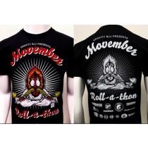 2014 Movember Rollathon T-Shirt