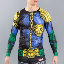 Scramble Judge Dredd BJJ rash guard