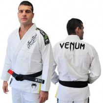 Venum BJJ Gi single weave Competitor- White (Ice)