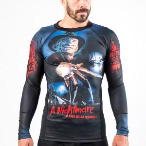 Fusion Fight Gear A Nightmare On Elm Street Compression Rash Guard