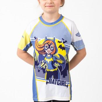Batgirl Kids Rash Guard- Short Sleeve