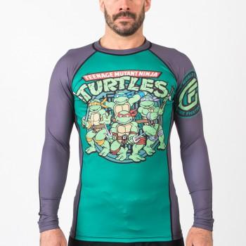 Fusion Fight Gear Teenage Mutant Ninja Turtles Retro Cartoon Rash Guard