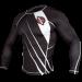 Hayabusa Recast Rashguard- Black and White
